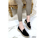 Туфли лоферы с украшением, фото 3