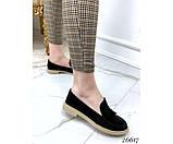 Туфли лоферы с украшением, фото 6
