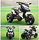 Детский электромотоцикл T-7231 EVA Белый, фото 3
