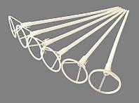 Палочка -держатель для фольгированных шаров 40 см (белая)