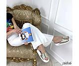 Шкіряні шльопанці Nina_mi, фото 2