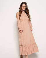 Платья BeautyArt 10821 S,M, L бежевый