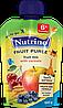 """Фруктовое пюре из фруктового микса и злаков 100 г в мягкой упаковке ТМ """"NUTRINO"""" с 6 месяцев."""