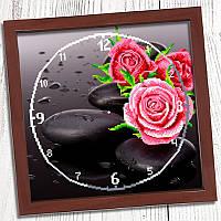 """Схема для вишивки """"Годинник для вишивки бісером """"Троянда"""" (Biser Art 011)"""