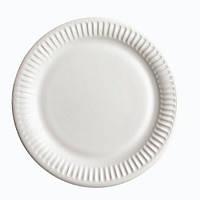 Тарелка бумажная белая ламинированая 23 см 100 шт Pro Master арт.97313