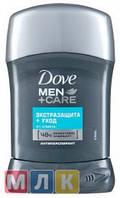 """Dove Дезодорант для мужчин """"Экстразащита+уход"""" стик 50 мл"""