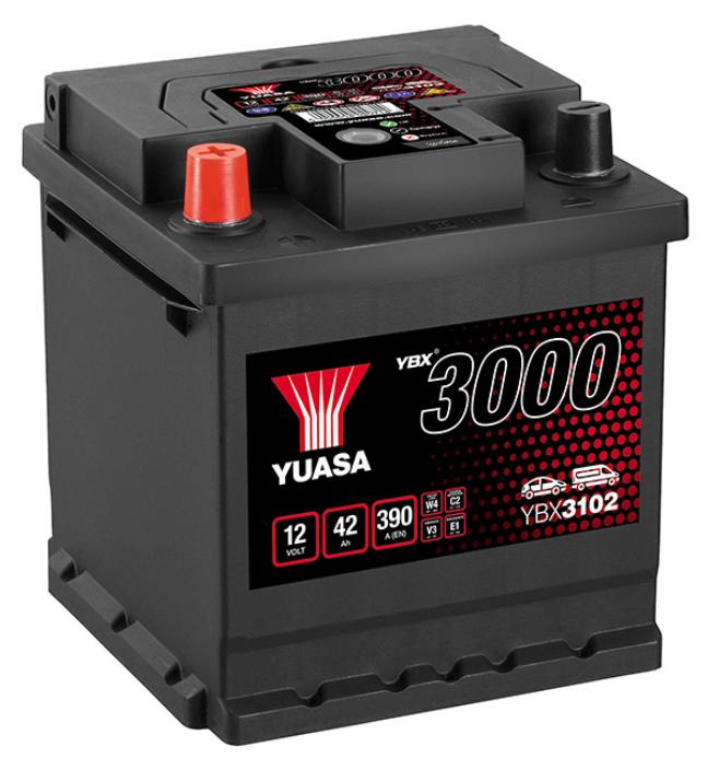 Yuasa 12V 42Ah SMF Battery (1)