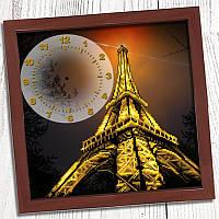 """Схема для вишивки """"Годинник для вишивки бісером """"Вечірній Париж"""" (Biser Art 013)"""