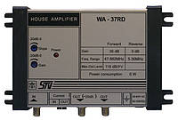 WA-37RD (1 вход, 1 выход, усиление 36 дБ, выход. 118дБ/мкВ, регулировки АЧХ/усиления, дистанционное питание)