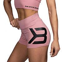 Спортивные шорты Better Bodies Gracie Hotpants, Heather Pink, фото 1