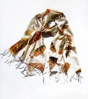 """Теплый шарф """"Полёт"""""""