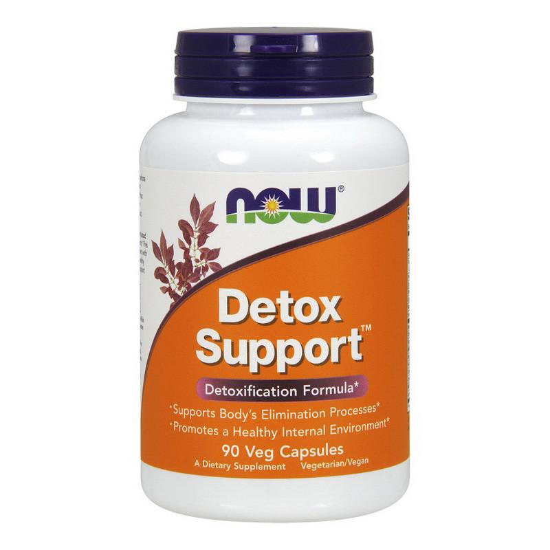 Детоксикации организма NOW Detox Support 90 veg caps