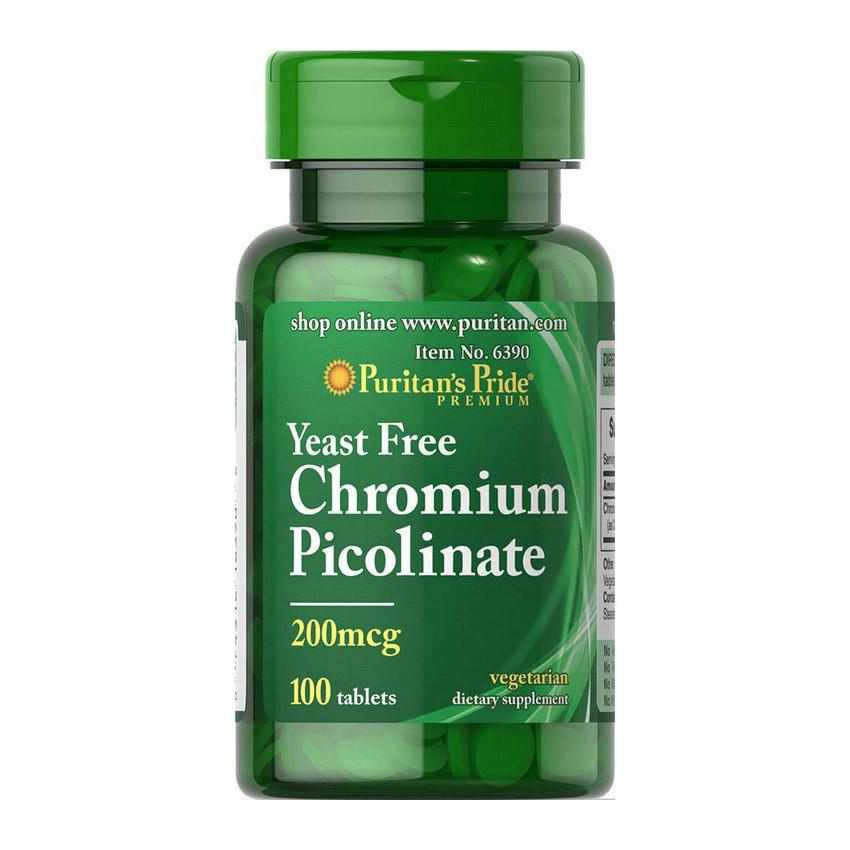 Селен Puritan's Pride Selenium 200 mcg 100 tablets