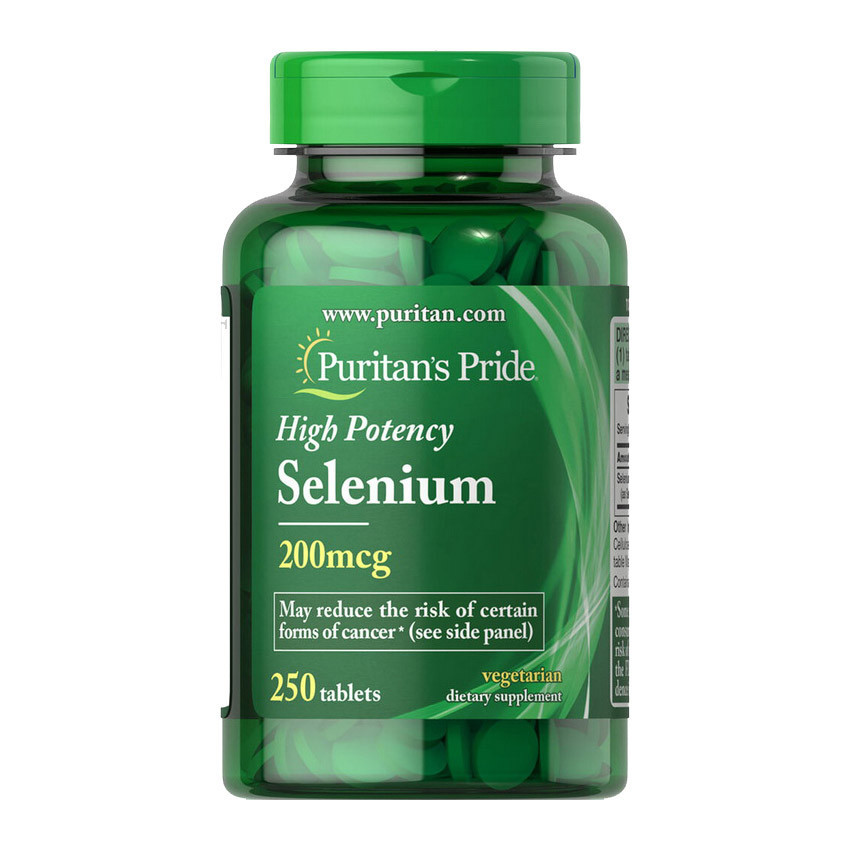 Селен Puritan's Pride Selenium 250 tabs