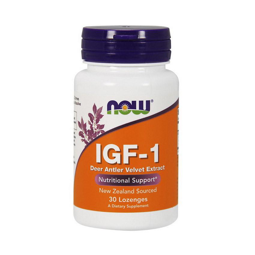 Омолоджуючий ефект NOW IGF-1 30 lozenges