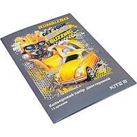 """Набір кольорів паперу А4 двостор.15арк./ 15кольорів """"Kite"""" Transformers TF19-250, фото 1"""