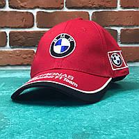 Кепка бейсболка Авто BMW (красная)