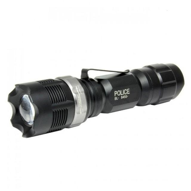 Мини тактический фонарик Police 125 с линзой Cree
