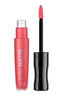 Rimmel Жидкая матовая помада для губ Stay Matte Liquid Lipstick