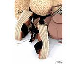 Босоножки Stilli плетеная подошва, фото 3