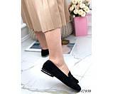 Лоферы  на квадратном каблуке, фото 6