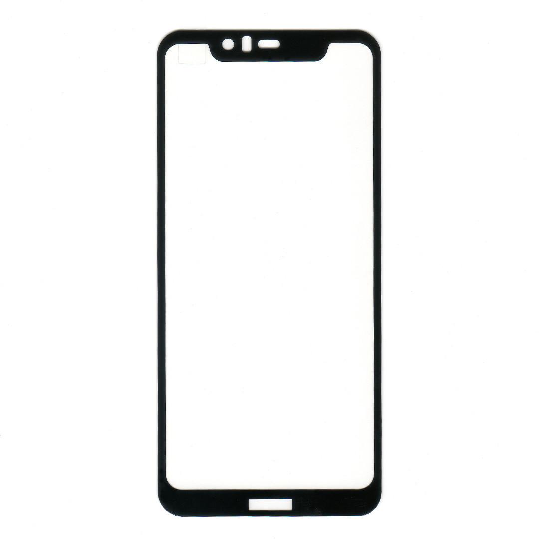 Защитное стекло для Nokia 5.1 Plus, Full glue, черный