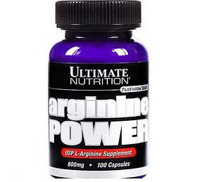 Аргінін Ultimate Nutrition Arginine power (100 caps)