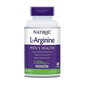 Аргінін Natrol L-Arginine 3,000 mg 90 tab