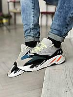 Adidas Yeezy Boost 700 беговые мужские кроссовки разноцветные Адидас Изи Буст 700