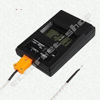 Электронный термометр -50 - 1300С с датчиком температуры TM-902C термопарой К-типа -50 - 400С