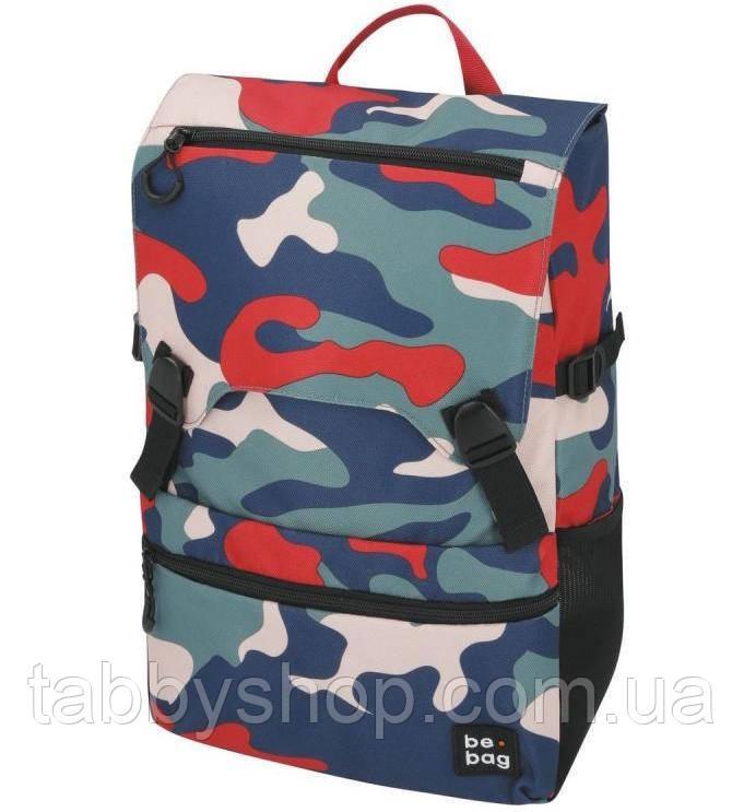 Рюкзак школьный подростковый Herlitz Be.Bag Be.Smart Camouflage Fun камуфляж