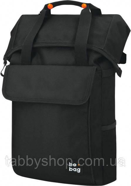 Рюкзак школьный подростковый Herlitz Be.Bag Be.Flexible Black черный