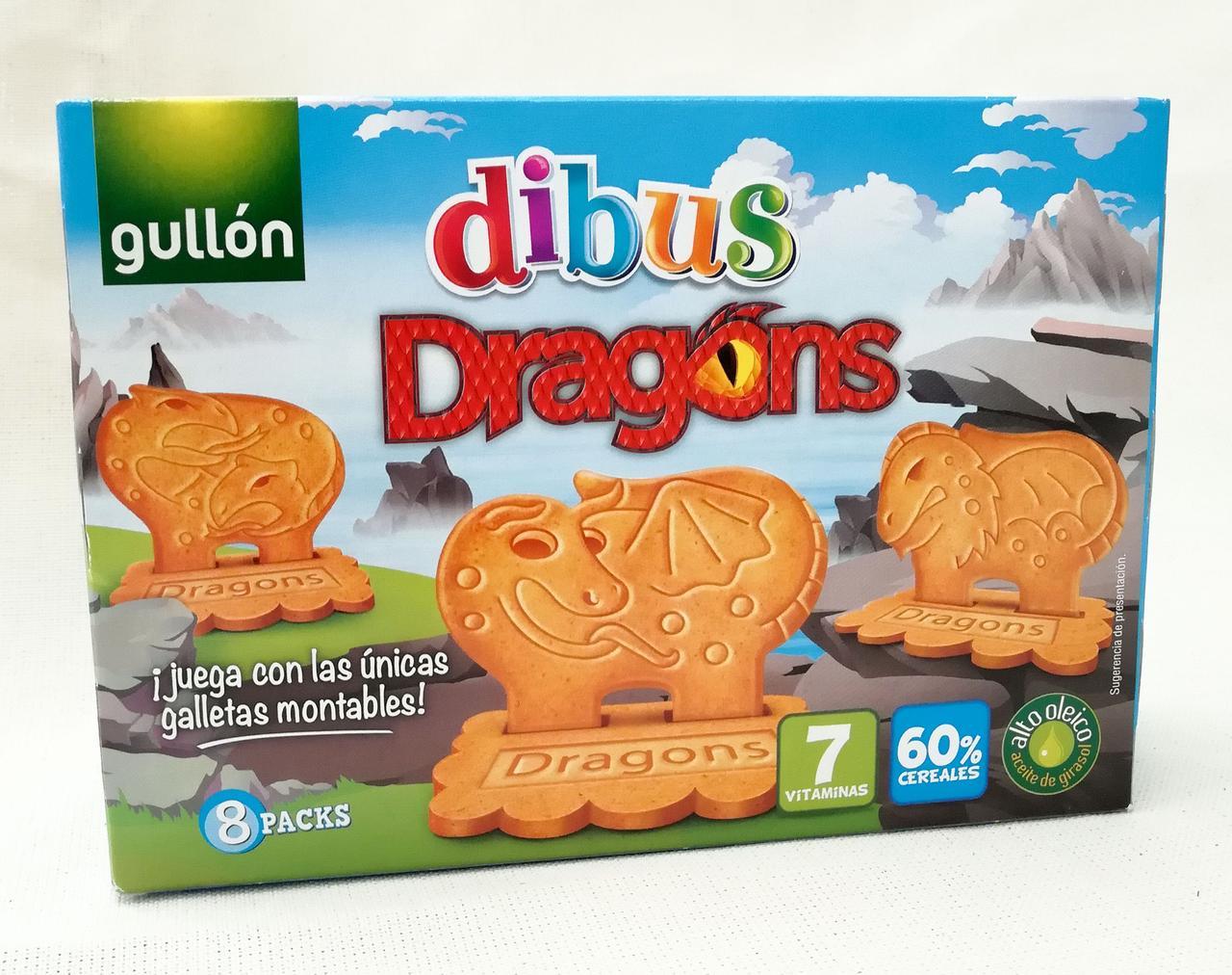 Печенье Gullon dibus Dragons