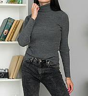Гольф в рубчик базовый женский (ПОШТУЧНО), фото 1