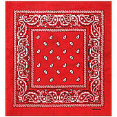 Бандана ковбойская красная 020316-220