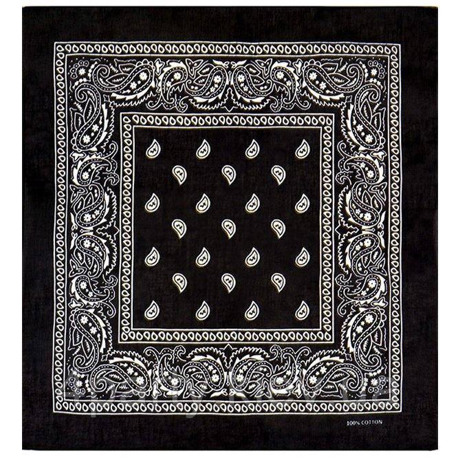 Бандана ковбойская черная 020316-085