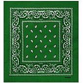 Бандана ковбойская темно-зеленая 020316-197