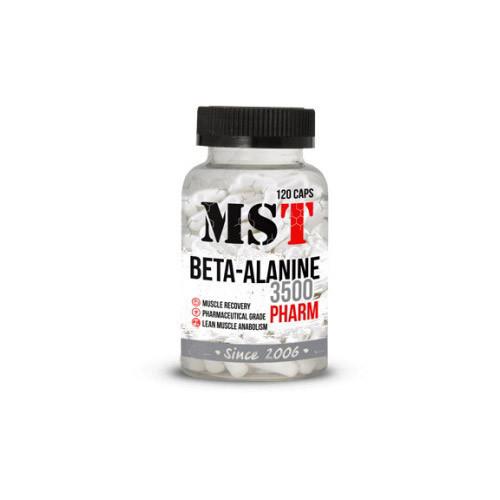 Бета-аланин MST Beta-Alanine Pharm 3500 (120 caps)