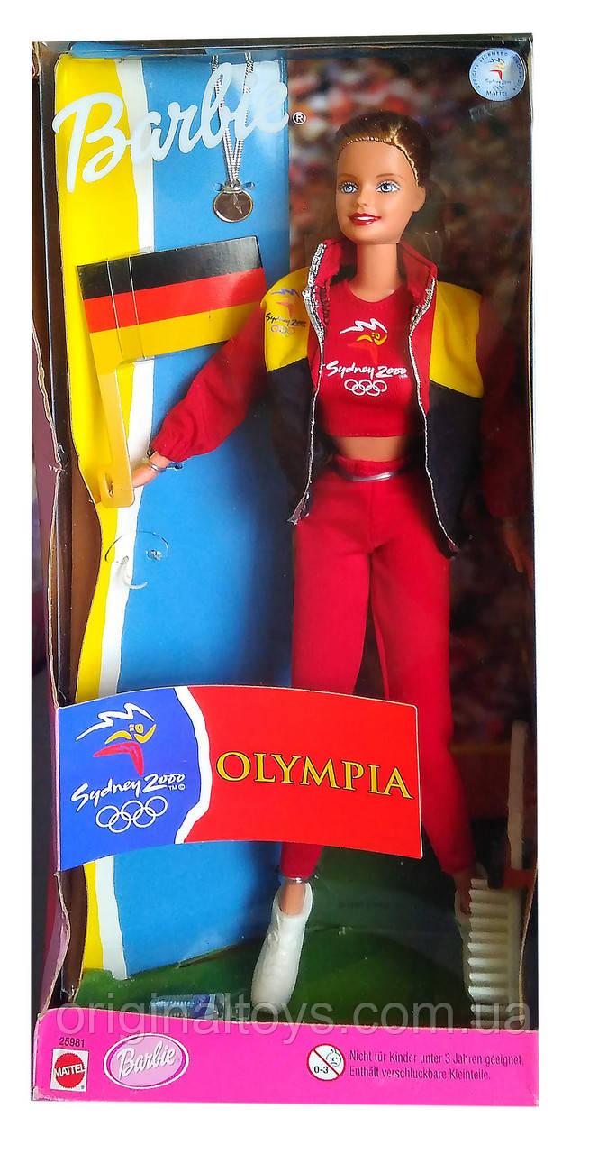 Коллекционная кукла Барби Олимпийские игры Сидней 2000 Германия Barbie Sydney Olympia German 1999 Mattel