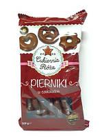 Пряники в чорному шоколаді Cukiernia Roza Pierniki w czekoladzie, 500g