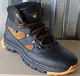 Детские зимние ботинки кожаные, зимняя обувь детская обувь от производителя модель ВОЛ2002, фото 2