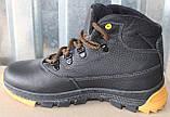 Детские зимние ботинки кожаные, зимняя обувь детская обувь от производителя модель ВОЛ2002, фото 3
