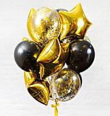 Букет шаров Трикс 12 шт. ГЕЛИЙ 110319-206