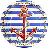Тарелки праздничные Морские 6 180720-014