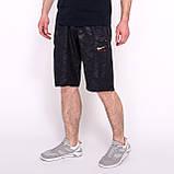 Чоловічі спортивні шорти Nike, кольору хакі (плащівка)., фото 6
