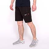Чоловічі спортивні шорти Nike, синього кольору (плащівка, принт камуфляж)., фото 4