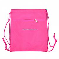 Сумка для взуття YES SB-10 Fun mood Бірюзовий з рожевим (557787), фото 2