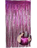 Штора сатин (фиолетовая) 2х1 м 150120-006