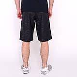 Чоловічі спортивні шорти Nike, синього кольору (плащівка, принт камуфляж)., фото 2