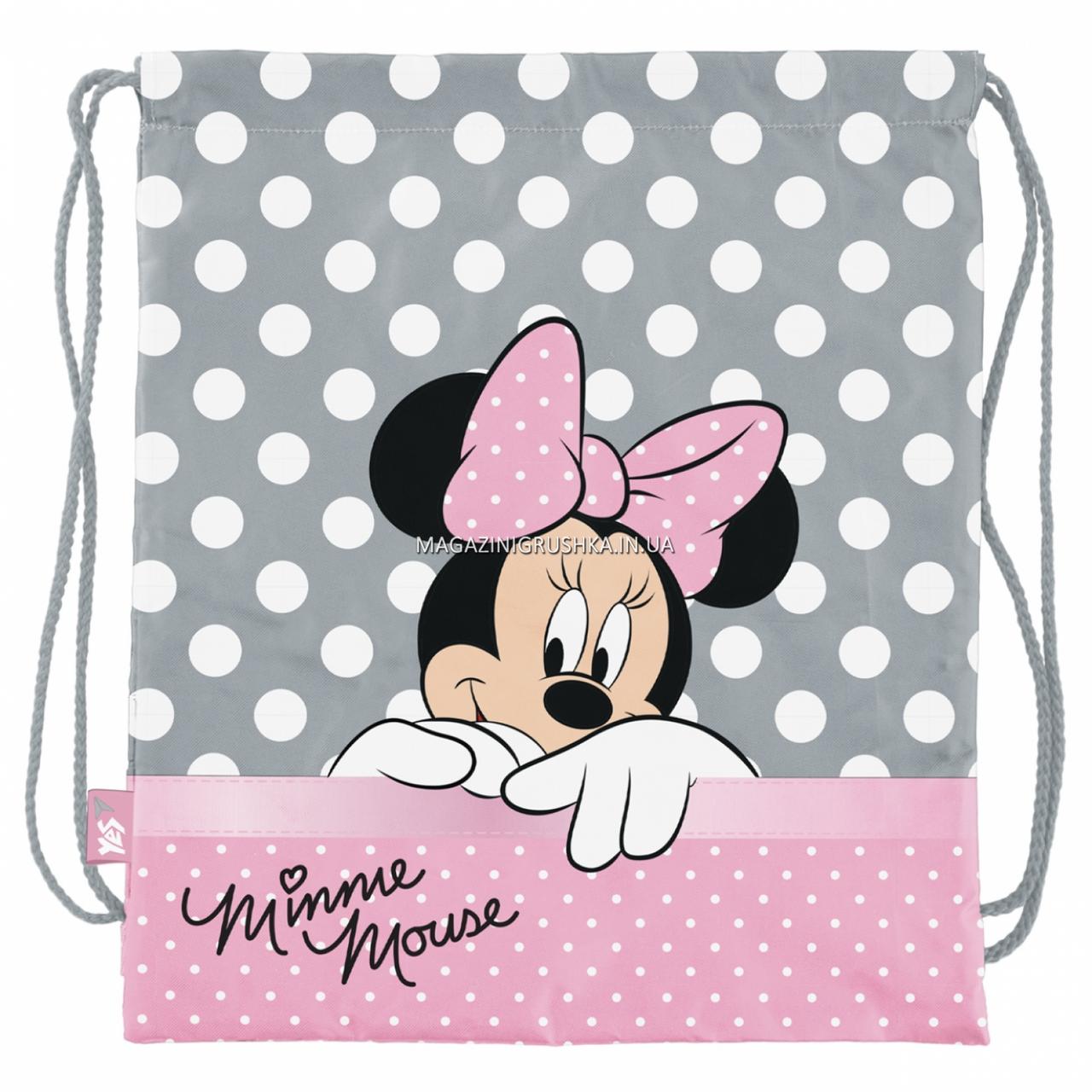Сумка для обуви YES SB-10 Minnie Mouse Серый с розовым (532895)